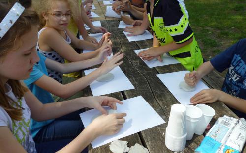 erdei iskolás foglalkozás